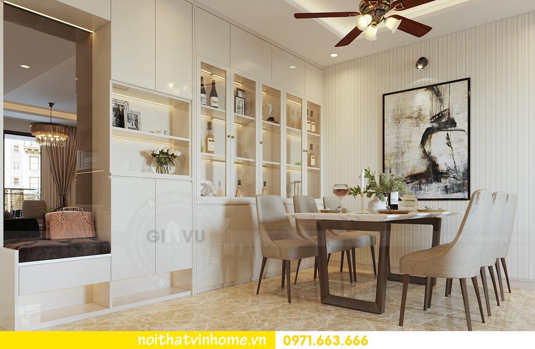 thiết kế nội thất chung cư hiện đại DCapitale căn C108 View 1