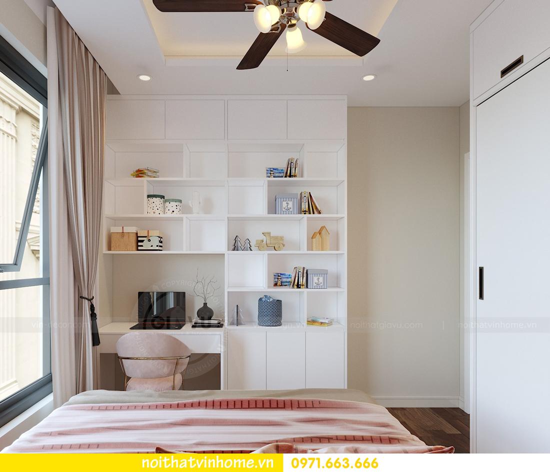 thiết kế nội thất chung cư hiện đại DCapitale căn C108 View 11
