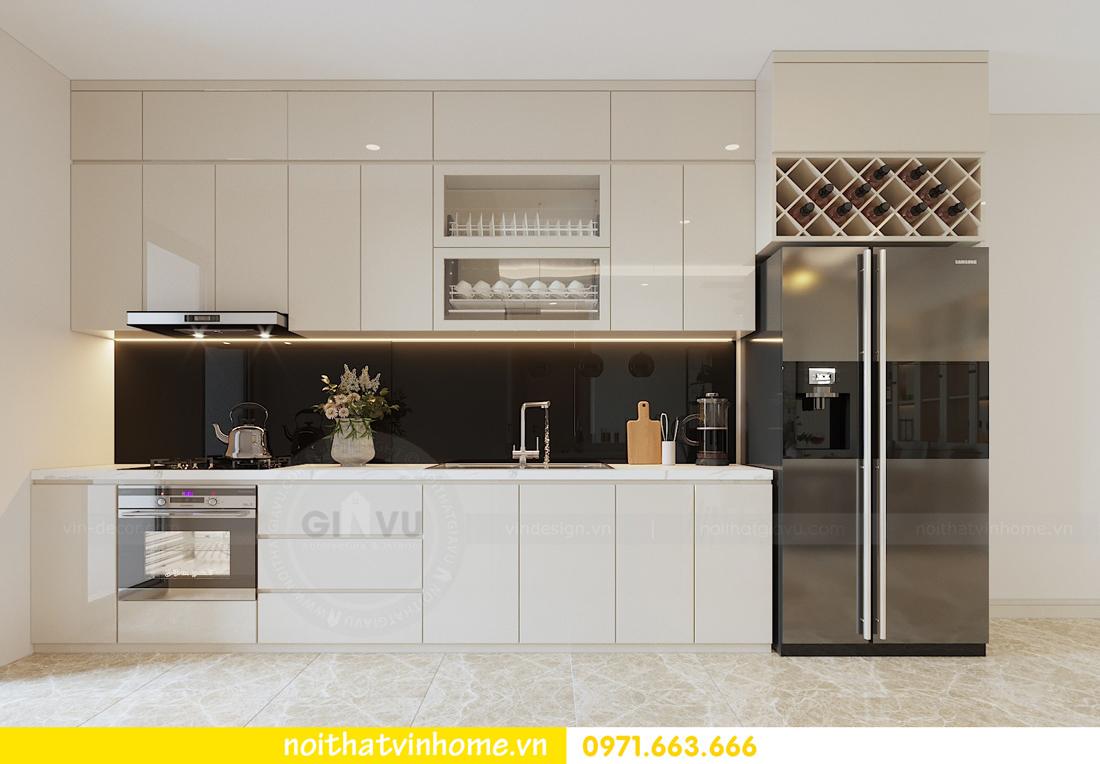 thiết kế nội thất chung cư hiện đại DCapitale căn C108 View 5