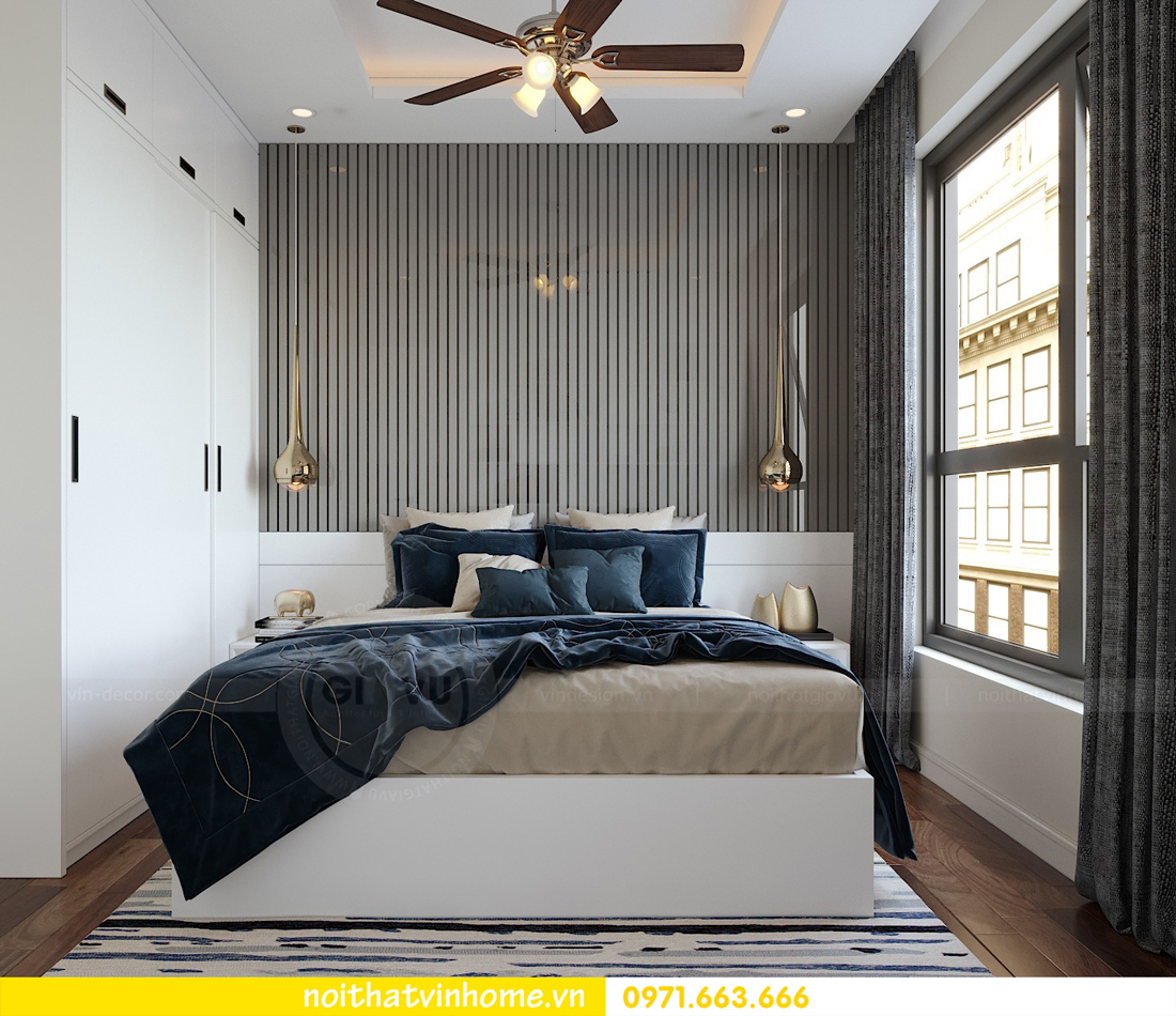 thiết kế nội thất chung cư hiện đại DCapitale căn C108 View 8