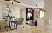 thiết kế nội thất chung cư hiện đại DCapitale tòa C1 căn 08 nhà anh Thành