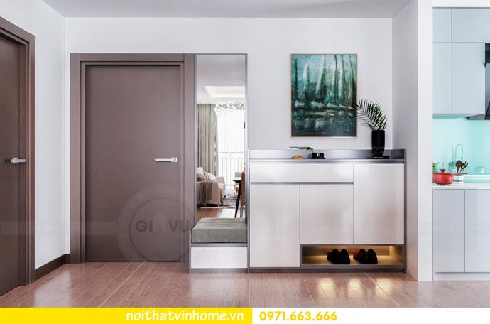 thiết kế nội thất chung cư Sky Lake tòa S3 căn 14 nhà chị Hằng 01