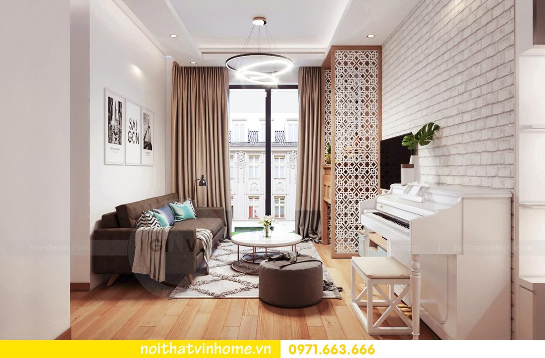 thiết kế nội thất chung cư Skylake căn 11A tòa S3 anh Trường 03