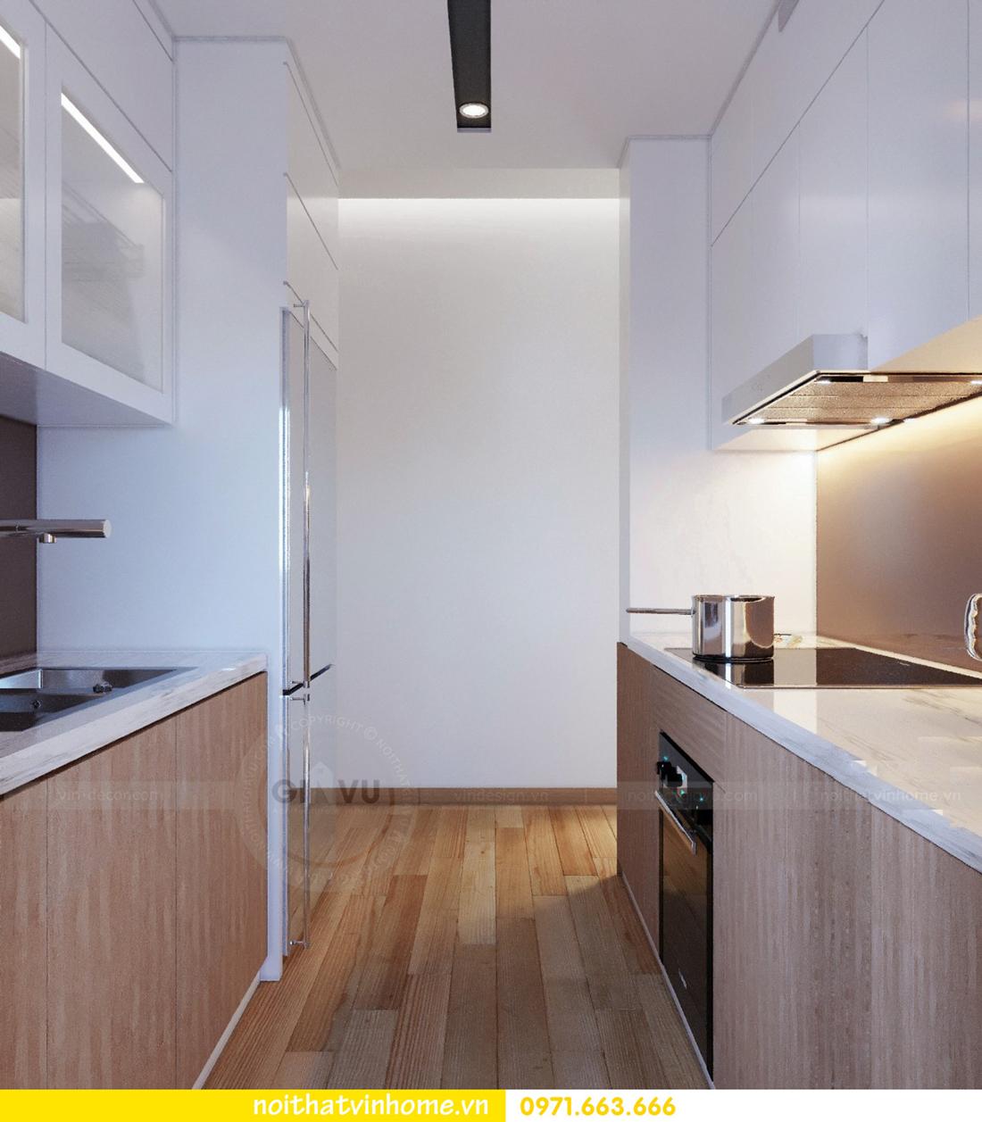thiết kế nội thất chung cư Skylake căn 11A tòa S3 anh Trường 06