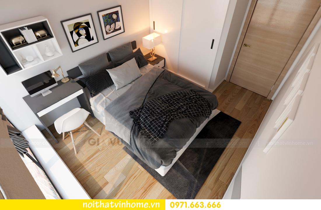 thiết kế nội thất chung cư Skylake căn 11A tòa S3 anh Trường 11