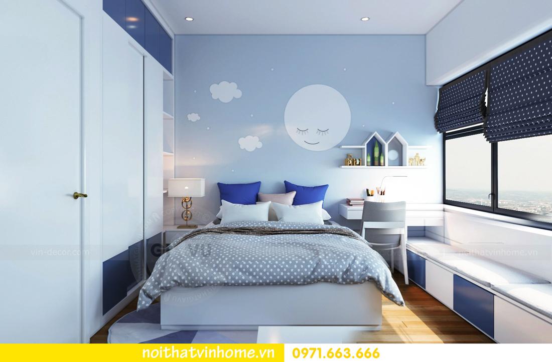 thiết kế nội thất chung cư Skylake căn 11A tòa S3 anh Trường 12