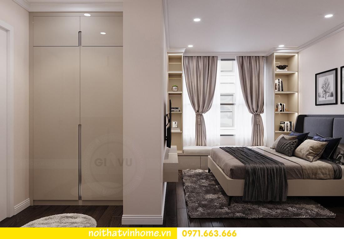 thiết kế nội thất chung cư Vinhomes D Capitale tòa C3 căn 04 cô Trâm 10
