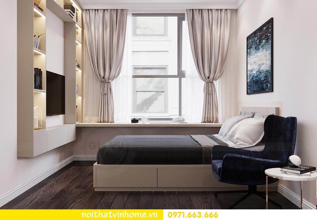 thiết kế nội thất chung cư Vinhomes D Capitale tòa C3 căn 04 cô Trâm 15