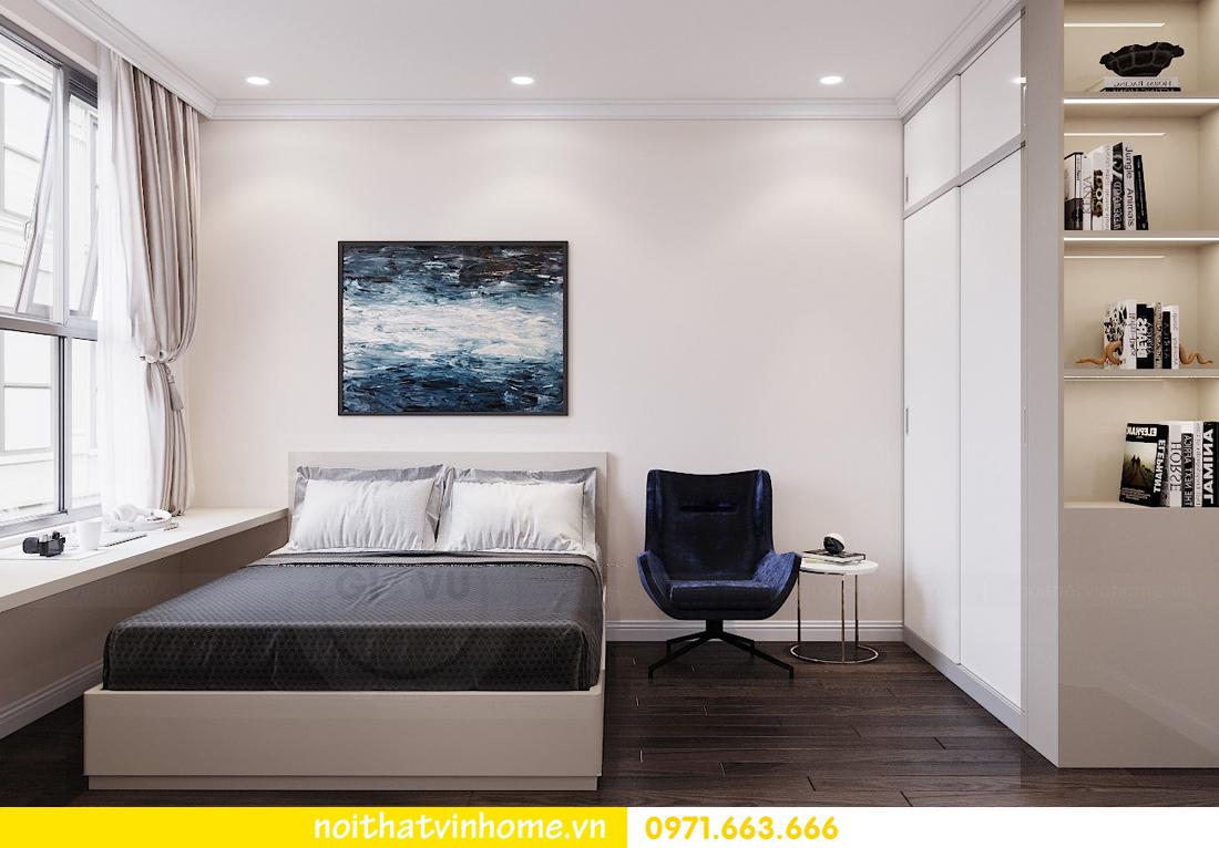 thiết kế nội thất chung cư Vinhomes D Capitale tòa C3 căn 04 cô Trâm 16