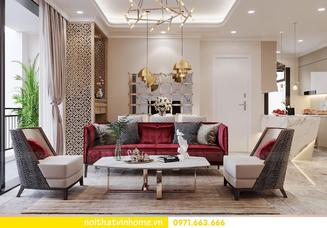 thiết kế nội thất chung cư Vinhomes D Capitale tòa C3 căn 04 cô Trâm 2
