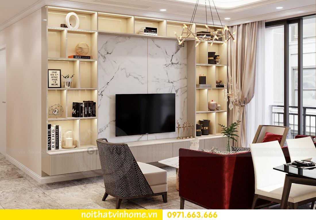 thiết kế nội thất chung cư Vinhomes D Capitale tòa C3 căn 04 cô Trâm 4