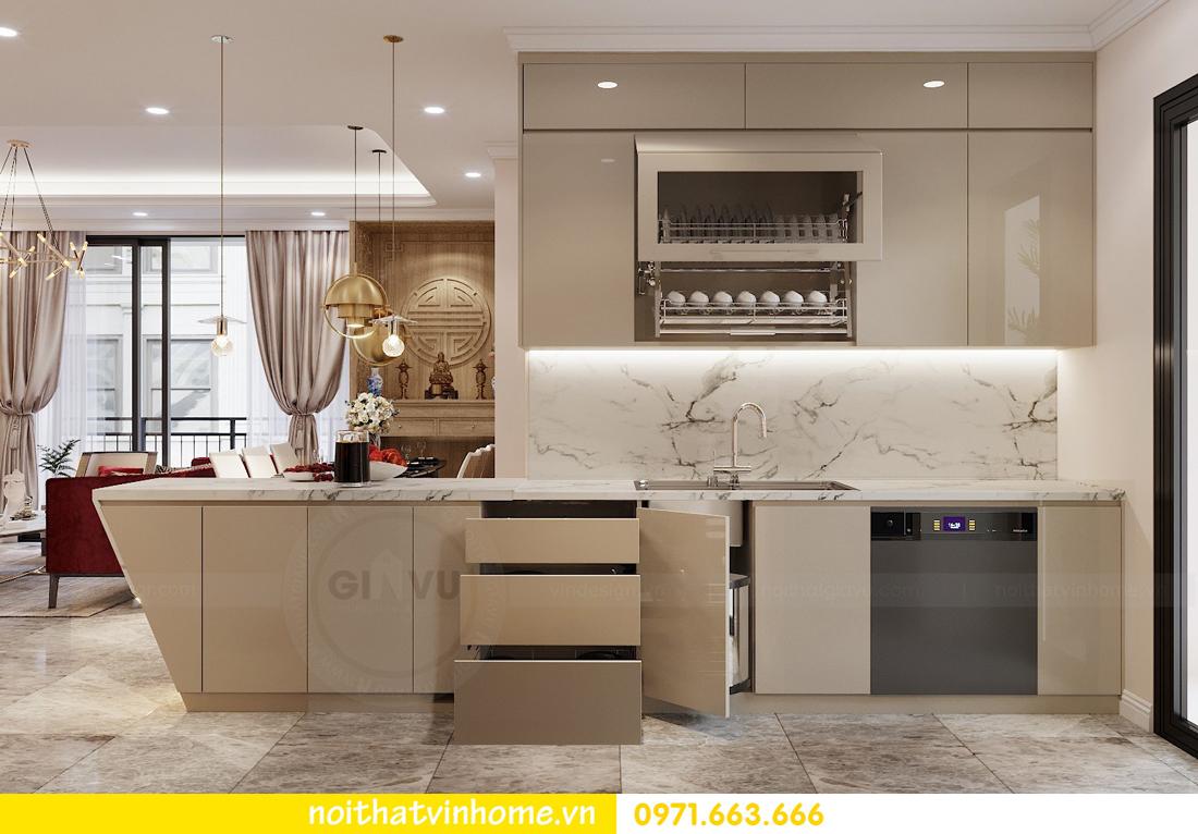 thiết kế nội thất chung cư Vinhomes D Capitale tòa C3 căn 04 cô Trâm 8