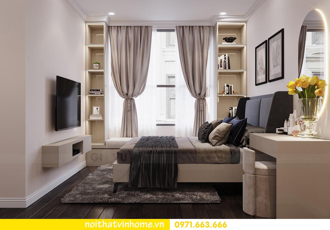 thiết kế nội thất chung cư Vinhomes D Capitale tòa C3 căn 04 cô Trâm 9