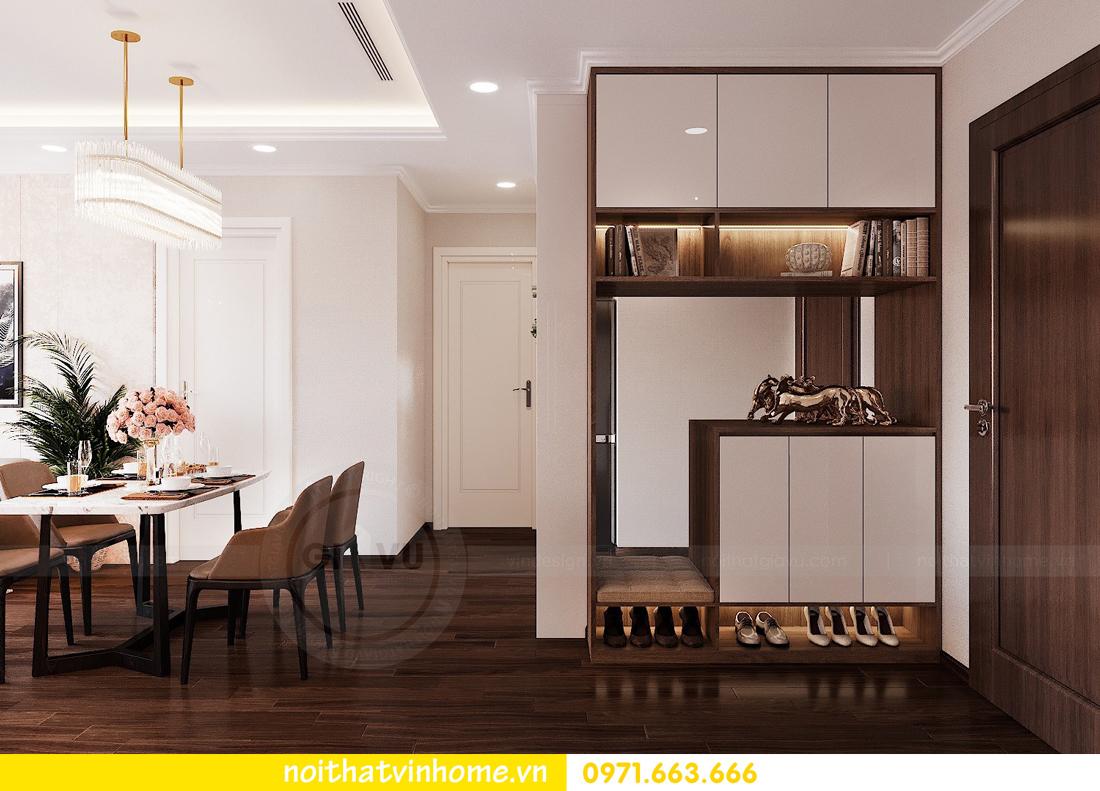 thiết kế nội thất chung cư Vinhomes Green Bay căn G210 nhà chị Phương 01