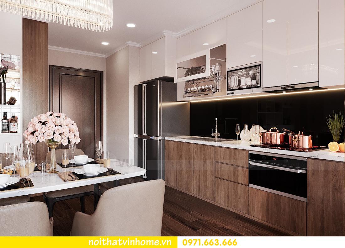 thiết kế nội thất chung cư Vinhomes Green Bay căn G210 nhà chị Phương 04