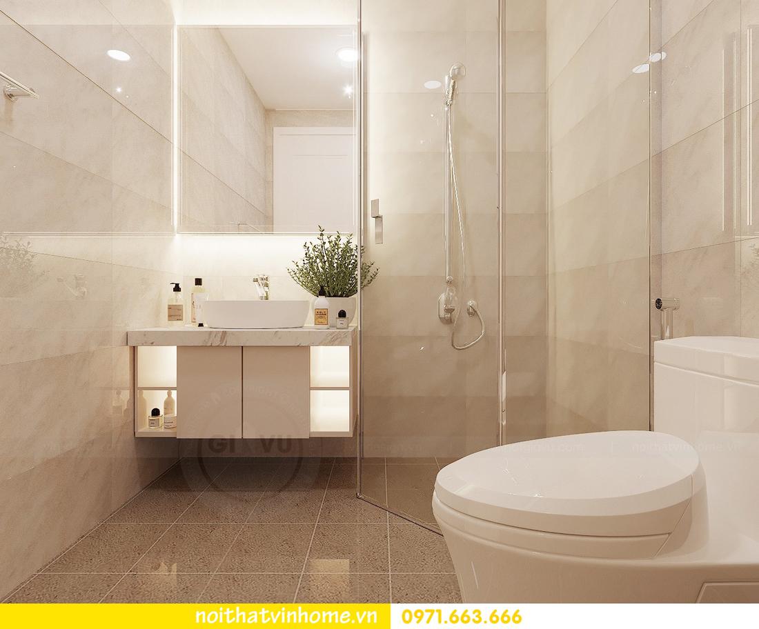 thiết kế nội thất chung cư Vinhomes Green Bay căn G210 nhà chị Phương 08