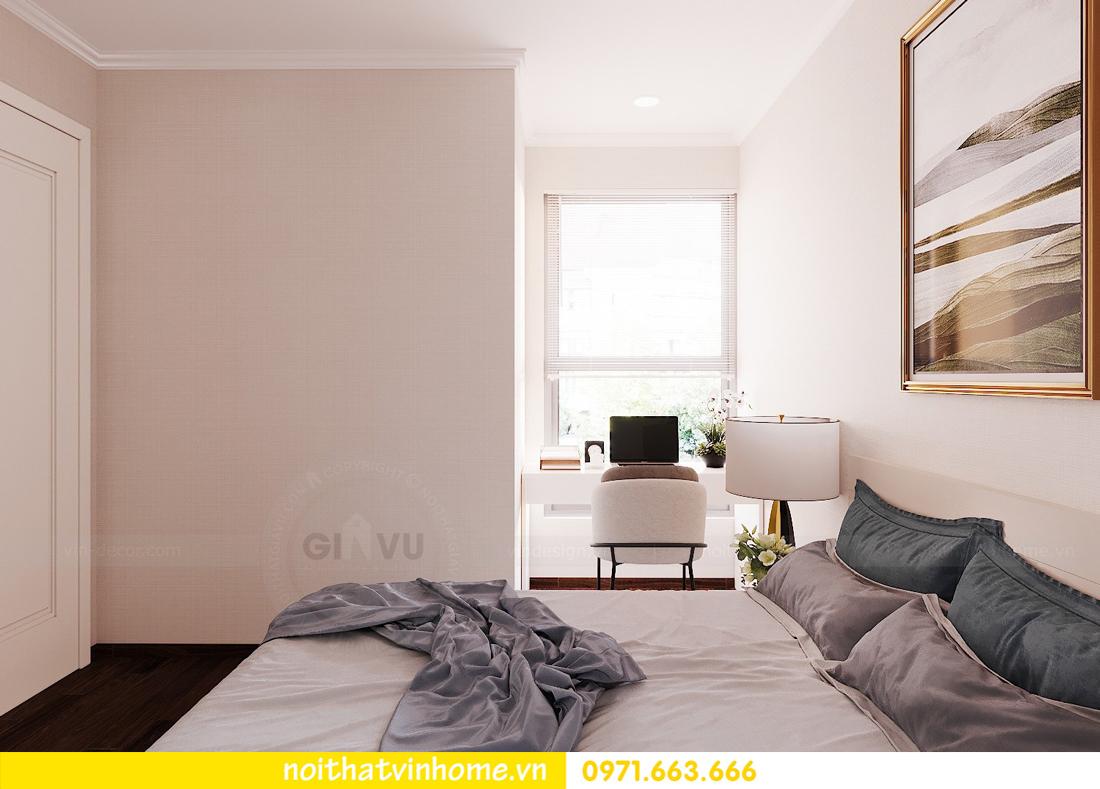 thiết kế nội thất chung cư Vinhomes Green Bay căn G210 nhà chị Phương 14