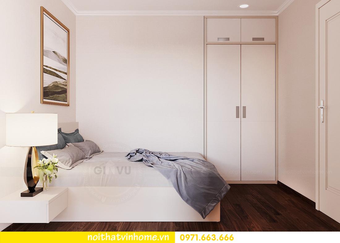 thiết kế nội thất chung cư Vinhomes Green Bay căn G210 nhà chị Phương 15