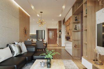 thiết kế nội thất Meropolis tòa M3 căn 01 nhà anh Thanh