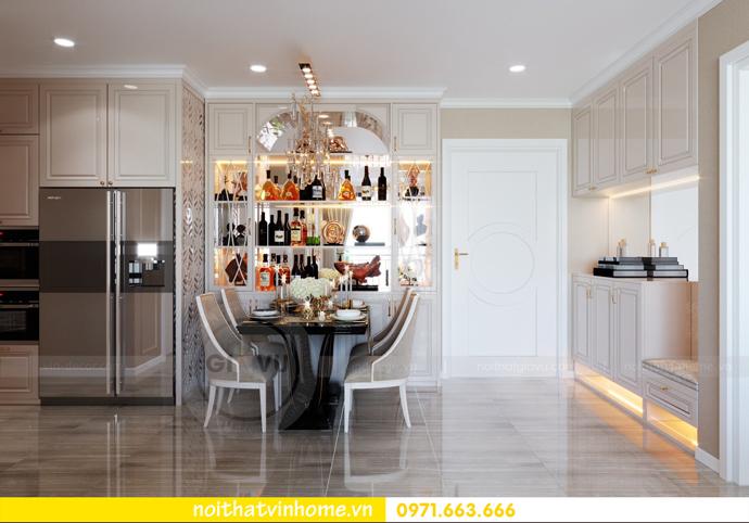 thiết kế nội thất tại Vinhomes D Capitale tòa C6 căn 10 nhà anh Vinh 01