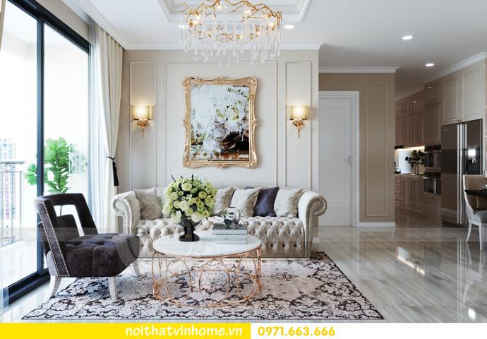 thiết kế nội thất tại Vinhomes D Capitale tòa C6 căn 10 nhà anh Vinh 05