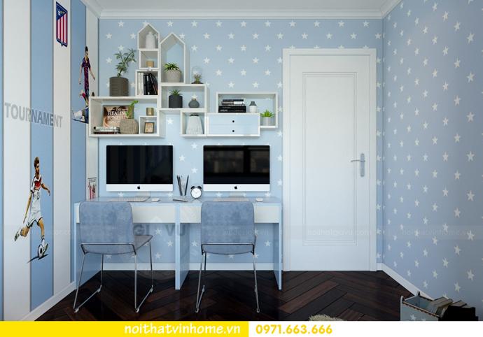 thiết kế nội thất tại Vinhomes D Capitale tòa C6 căn 10 nhà anh Vinh 09