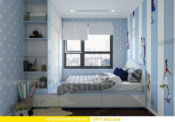 thiết kế nội thất tại Vinhomes D Capitale tòa C6 căn 10 nhà anh Vinh 10