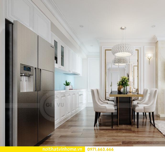 thiết kế nội thất Vinhomes DCapitale căn 01 tòa C1 chị Hiên 06