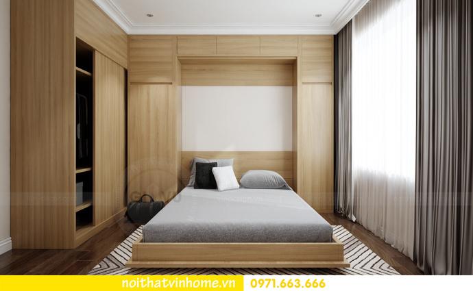 thiết kế nội thất Vinhomes DCapitale căn 01 tòa C1 chị Hiên 11