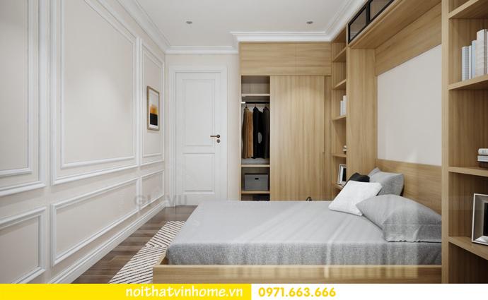 thiết kế nội thất Vinhomes DCapitale căn 01 tòa C1 chị Hiên 12