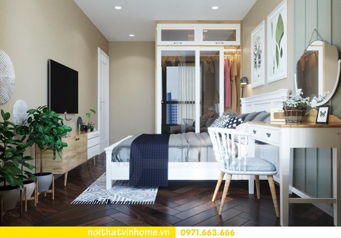 thiết kế nội thất Vintage tại chung cư Vinhomes D Capitale nhà anh Tín 06