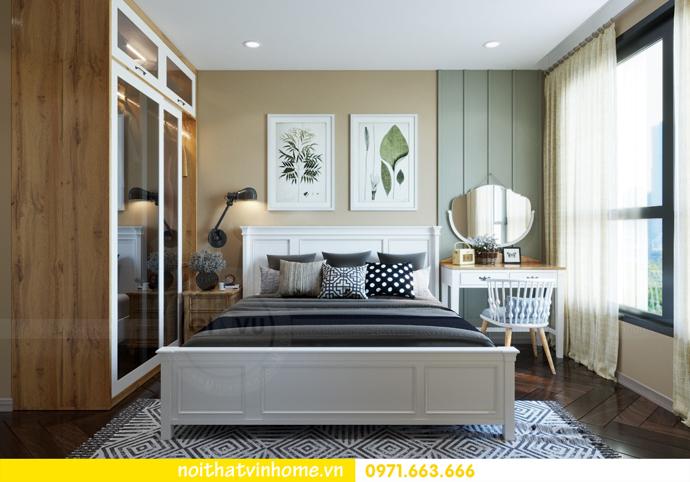 thiết kế nội thất Vintage tại chung cư Vinhomes D Capitale nhà anh Tín 07