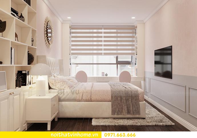 Nội thất căn hộ chung cư 3 phòng ngủ tại Vinhomes Park Hill đẹp sang trọng 10