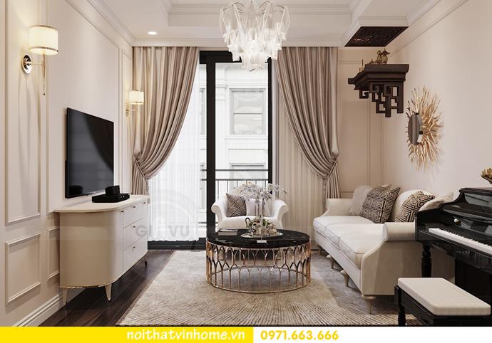 Nội thất căn hộ chung cư 3 phòng ngủ tại Vinhomes Park Hill đẹp sang trọng 5