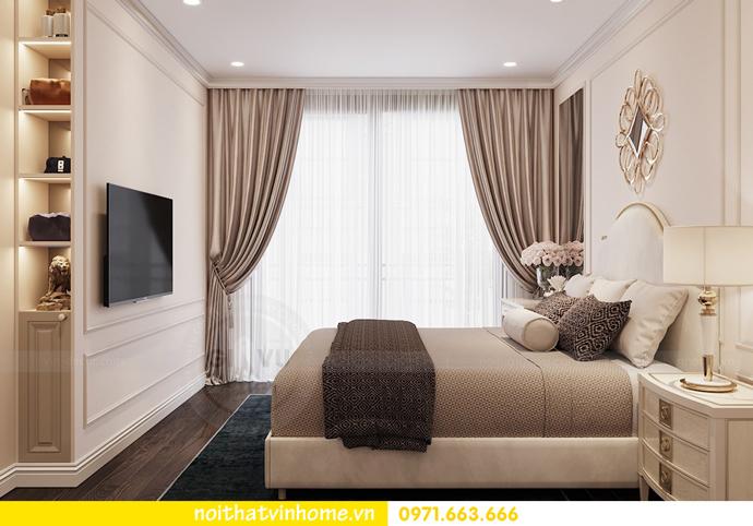 Nội thất căn hộ chung cư 3 phòng ngủ tại Vinhomes Park Hill đẹp sang trọng 7