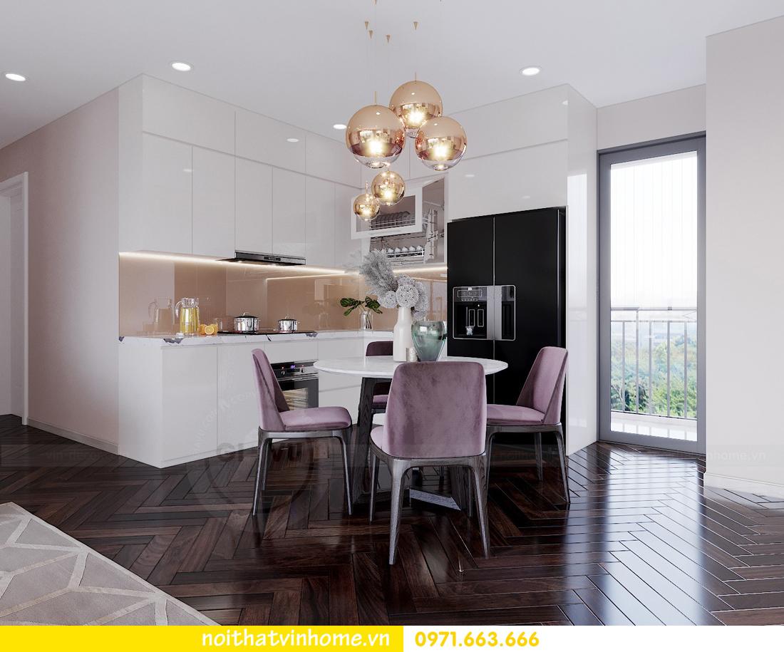 nội thất chung cư cao cấp hiện đại C6 căn 08 Vinhomes D Capitale nhà anh Toản 03