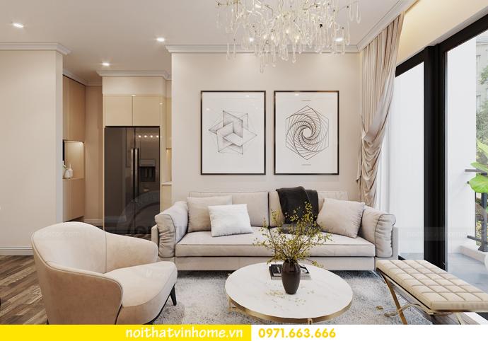 nội thất chung cư hiện đại Vinhomes D Capitale tòa C1 căn 09 chị Huyền 4