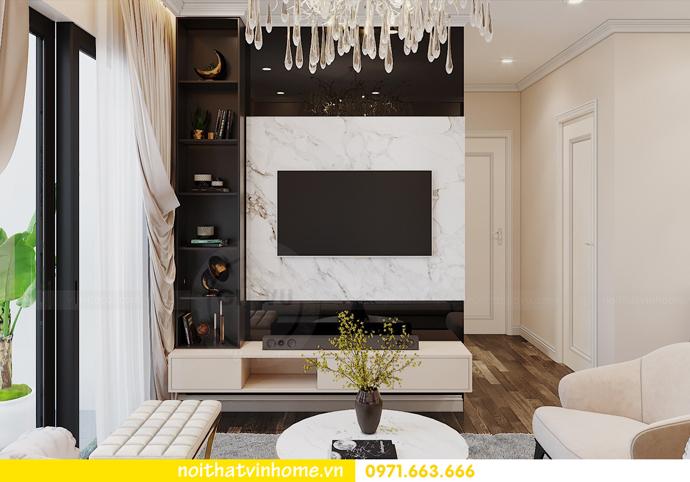 nội thất chung cư hiện đại Vinhomes D Capitale tòa C1 căn 09 chị Huyền 5