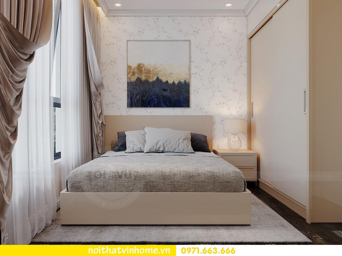 nội thất chung cư hiện đại Vinhomes D Capitale tòa C1 căn 09 chị Huyền 9