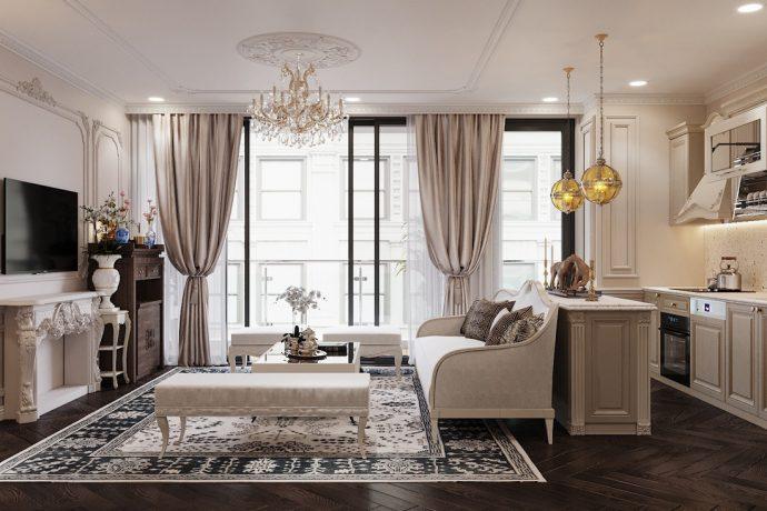 nội thất chung cư Metropolis theo phong cácnội thất chung cư Metropolis theo phong cách tan cổ điểnh tan cổ điển