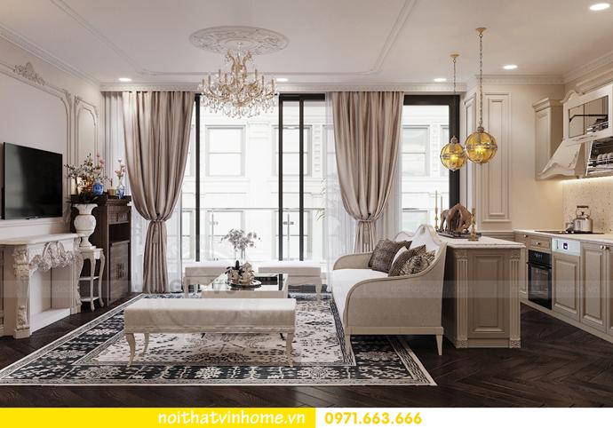 nội thất chung cư Metropolis tòa M3 căn 09 theo phong cách hiện đại 3