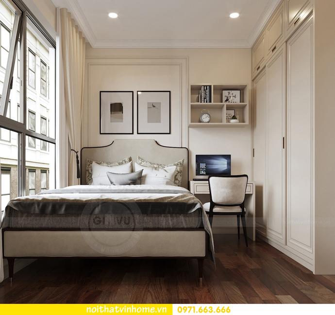 nội thất chung cư tân cổ điển tại Vinhomes D Capitale nhà anh Tân 10