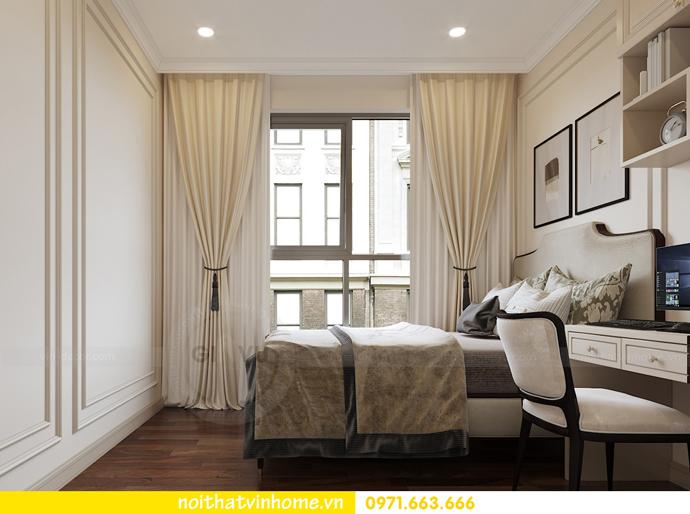 nội thất chung cư tân cổ điển tại Vinhomes D Capitale nhà anh Tân 11