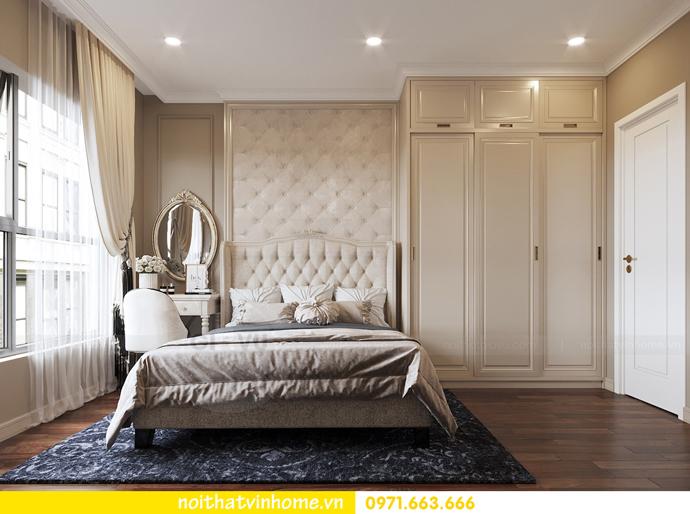 nội thất chung cư tân cổ điển tại Vinhomes D Capitale nhà anh Tân 6