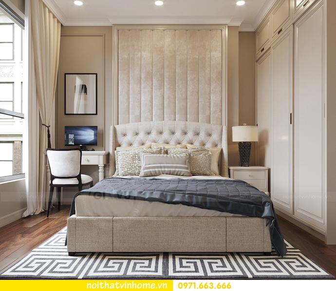 nội thất chung cư tân cổ điển tại Vinhomes D Capitale nhà anh Tân 8