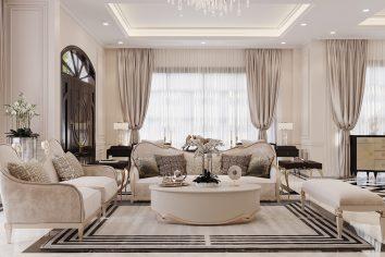 thiết kế nội thất biệt thự Paris Vinhomes Imperia Hải Phòng
