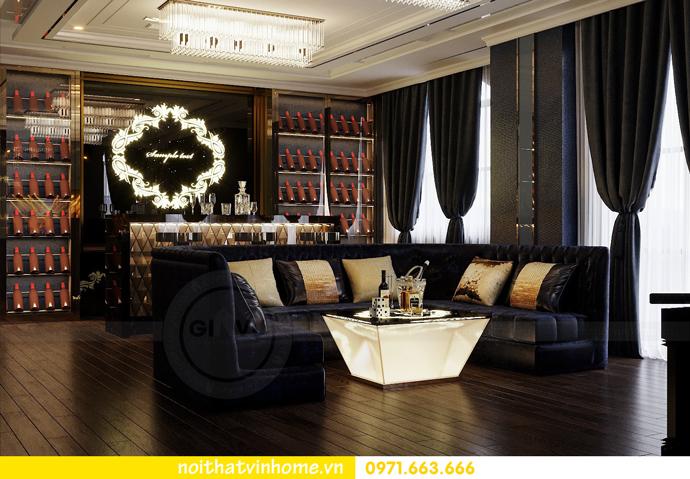 thiết kế nội thất biệt thự Paris Vinhomes Imperia Hải Phòng chị Thu 21