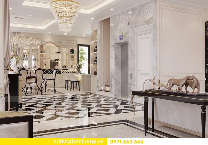 thiết kế nội thất biệt thự Paris Vinhomes Imperia Hải Phòng chị Thu 5