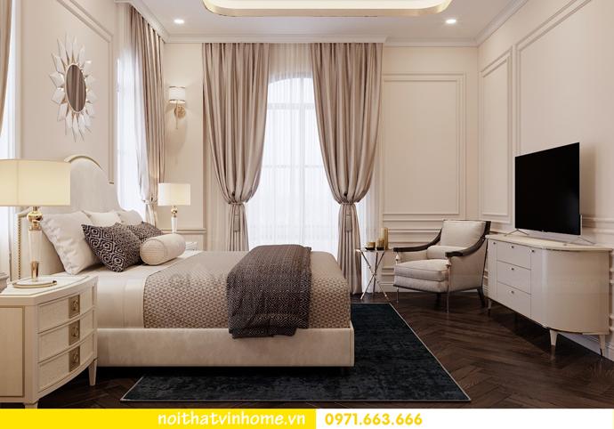 thiết kế nội thất biệt thự Paris Vinhomes Imperia Hải Phòng chị Thu 9