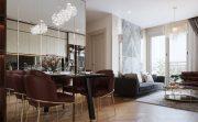 thiết kế nội thất căn hộ diện tích nhỏ 54m2 tại Vinhomes D Capitale